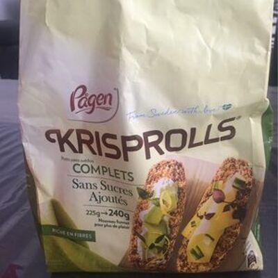 Krisprolls petits pains complets (Pågen)