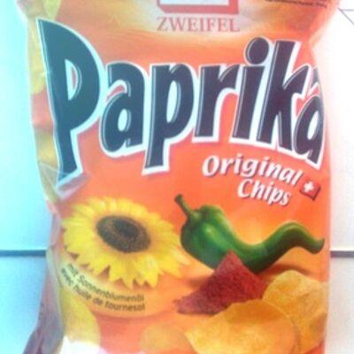 Paprika original chips (Zweifel)