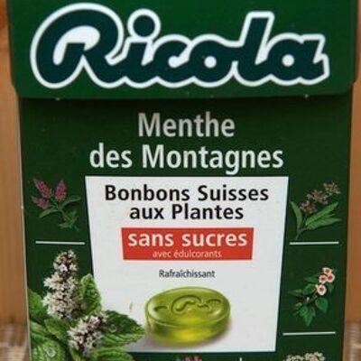 Bonbons suisses - menthe des montagnes (Ricola)