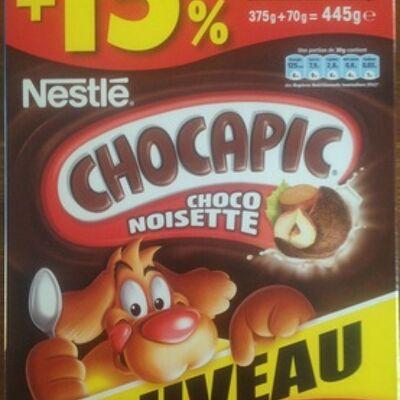 Chocapic choco noisette (Nestlé)