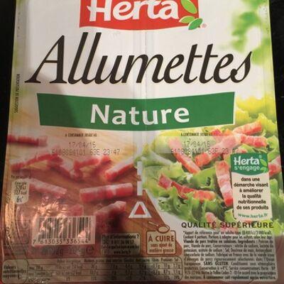 Allumettes nature (Herta)