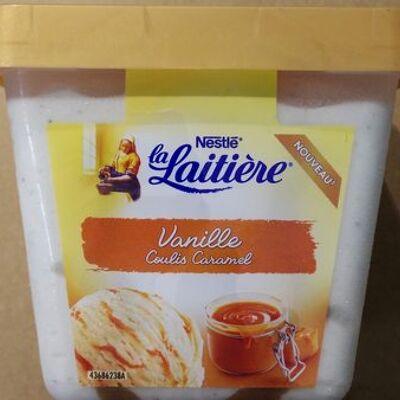 La laitière vanille coulis caramel (Nestlé)