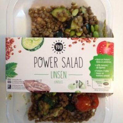 Power salade - lentilles (You)