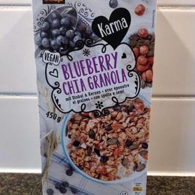 Blueberry chia granola (Coop)
