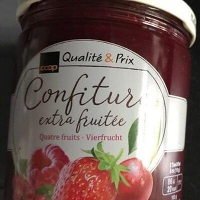 Confiture 4 fruits (Qualité & prix)