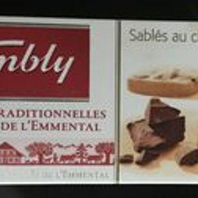 Sablés au chocolat au beurre frais de la vallée de l'emmental (Kambly)