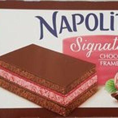 Napolitain signature chocolat framboise (Lu)