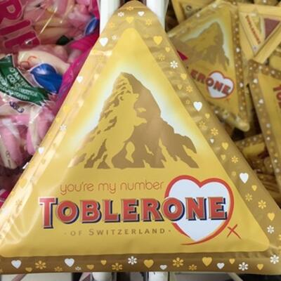 You're my number one (Toblerone)