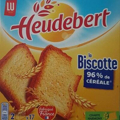 La biscotte (Heudebert)