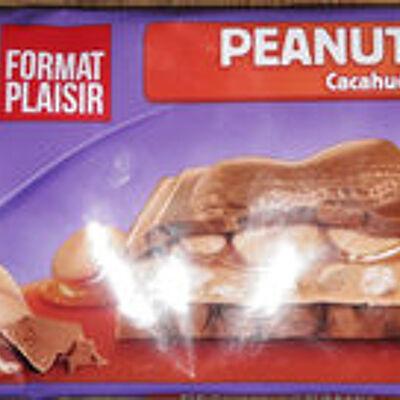 Chocolat cacahuète caramel (Milka)