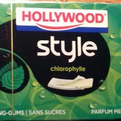 Style chlorophylle parfum menthe verte (Hollywood)