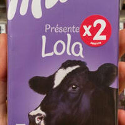 Tendre au lait (Milka)