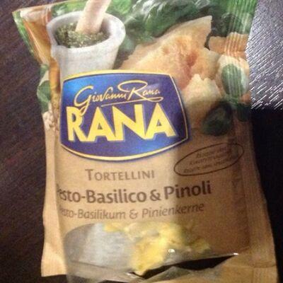 Tortellini pesto-basilico & pinoli (Giovanni rana)