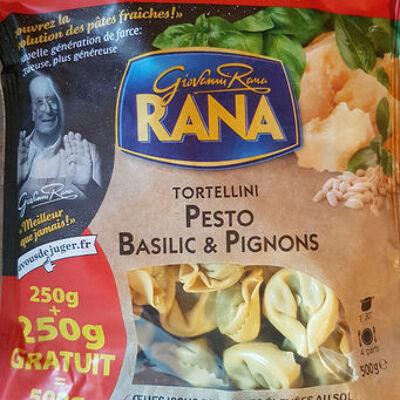 Tortellini pesto basilic pignon (Rana)
