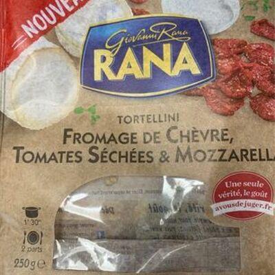Tortellini fromage de chèvre, tomates séchées et mozzarella (Giovanni rana)