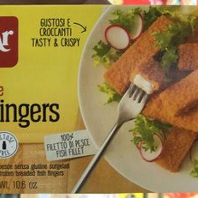 Gluten free fish fingers (Schär)