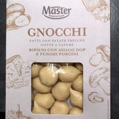 Gnocchis à l'asiago aop et aux cèpes (Eataly)
