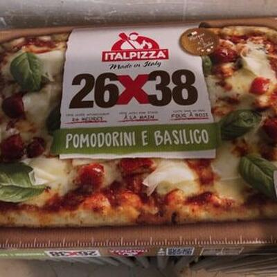 Pizza pomodorini e basilico (Italpizza)