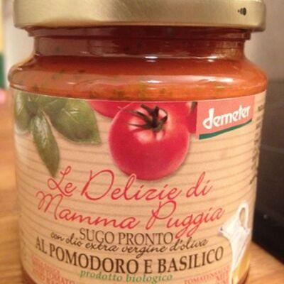 Sauce tomate et basilic (Le delizie di mamma puggia)