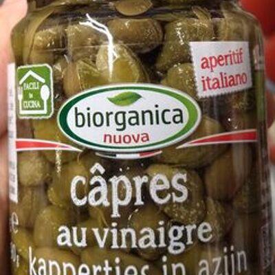 Câpres au vinaigre (Biorganica)
