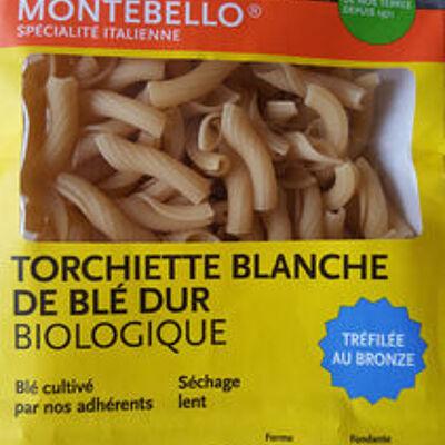 Torchiette blanche de blé dur biologique (Montebello)