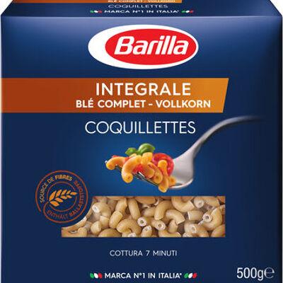 Pâtes coquillettes au blé complet (Barilla)