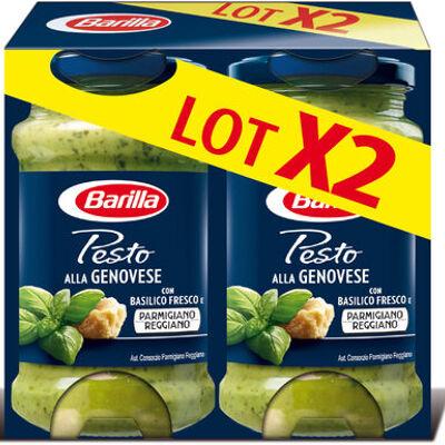 Lot 2 sauces pesto genovese (Barilla)