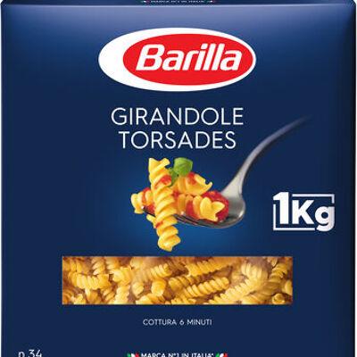 Pâtes torsades (Barilla)