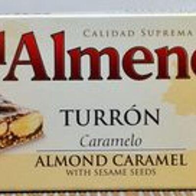 Turrón caramelo (El almendro)