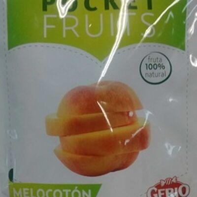 Pocket fruits pêche prêt-à-manger (Gerio)
