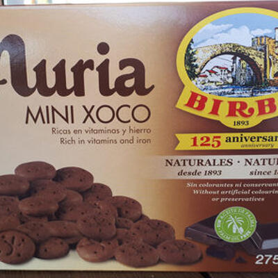 Galetes nuria mini xoco birba (Birba)