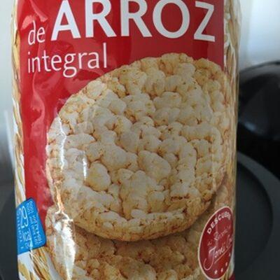 Tortitas de arroz integral (Bicentury)