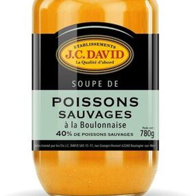 Soupe de poissons sauvages a la boulonnaise (J.c. david)