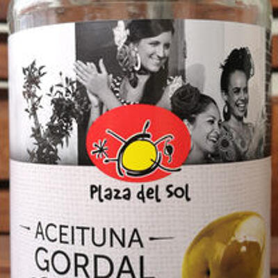 Aceituna gordal 185g verte geante plaza (Plaza del sol)
