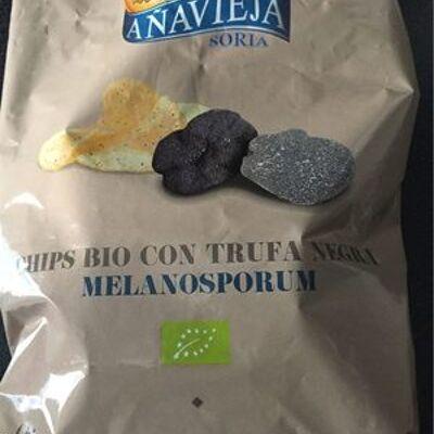 Chips bio con trufa negra melanosporum (A navieja)