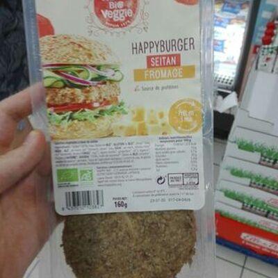 Happy burger seitan fromage (Happy bio veggie)