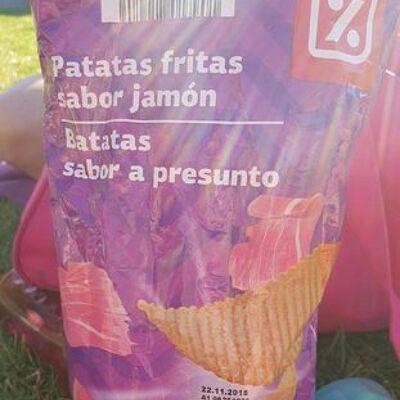 Patatas fritas sabor jamón (Dia)