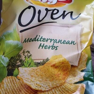 Chips oven mediterranean herbs (Lay's)