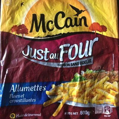 Just au four allumettes (Mccain)