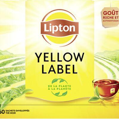 Lipton thé yellow label noir 60 sachets (Lipton)