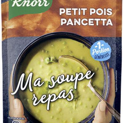 Knorr ma soupe repas soupe petits pois pancetta 37cl (Knorr)