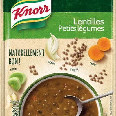 Knorr soupe lentilles petits légumes 69g 2 portions (Knorr)