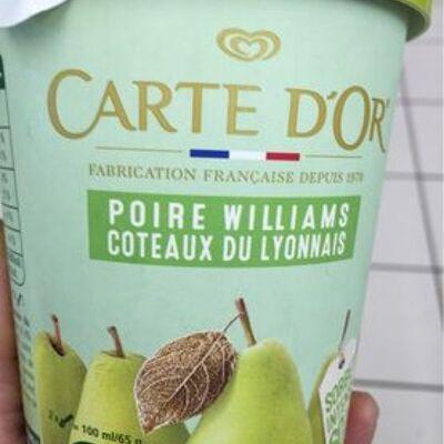 Carte d'or pot sorbet intense poire williams coteaux du lyonnais (Carte d'or)