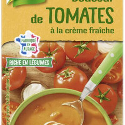 Knorr soupe liquide douceur de tomates à la crème fraîche brique (Knorr)