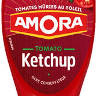Amora ketchup nature flacon souple 550g offre saisonnière (Amora)