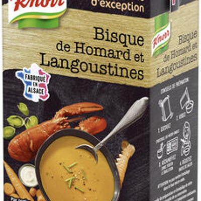 Knorr saveurs d'exception soupe bisque de homard et langoustine (Knorr)