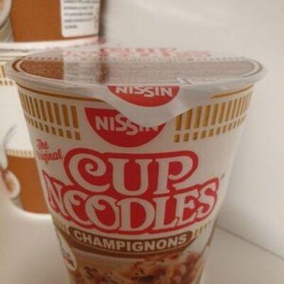 Cup noodles champignons (Nissin)