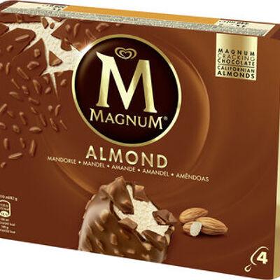Magnum batonnet glace amande x 4 440 ml (Miko)