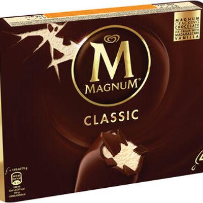 Magnum batonnet glace classic x 4 440 ml (Miko)