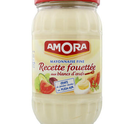 Amora mayonnaise recette fouettée bocal 465g (Amora)